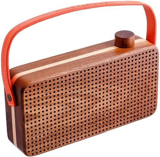 Портативный динамик Playbox Woodstock PB-17U-OR - фото 72261