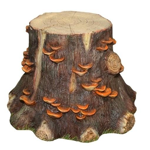 Изделие декоративное Пень с грибами средний, 58х56х41см - фото 88438