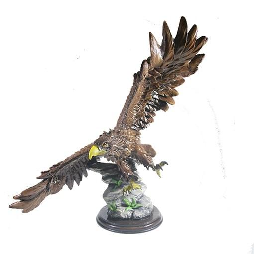Фигура декоративная Орел цвет: акрил L49W28H49см - фото 88489