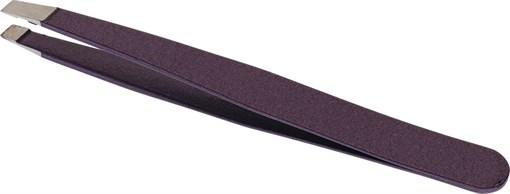 Пинцет косметический с наклонными рабочими кромками (96 мм) Dewal Beauty TW-26W - фото 94331