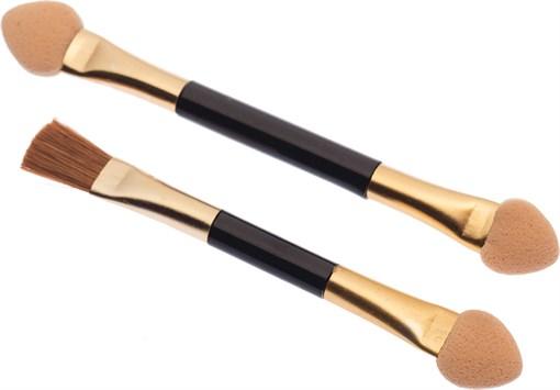 Аппликаторы двухсторонние с кистью (60 мм) Dewal Beauty APB-201 - фото 94341
