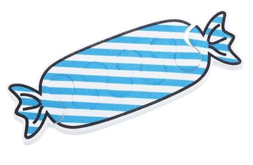 Разделители для пальцев 1 пара, голубой Dewal Beauty TS-38B - фото 94519