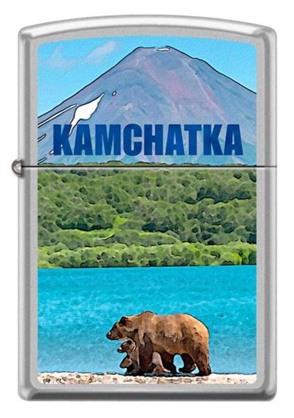 Зажигалка Камчатка Zippo 205 KAMCHATKA - фото 95249