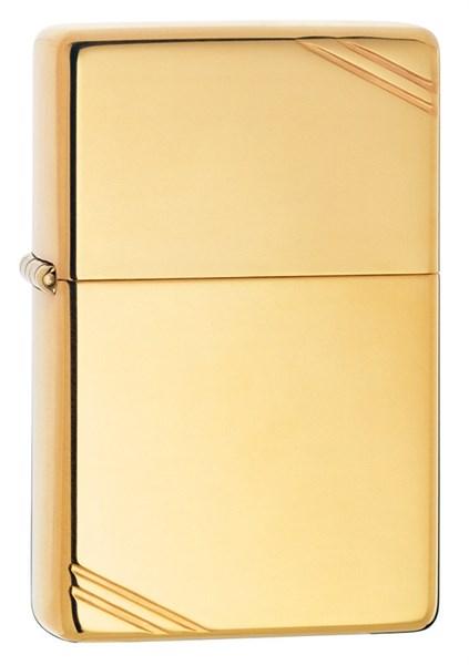 Зажигалка High Polish Brass Zippo 270 - фото 95333