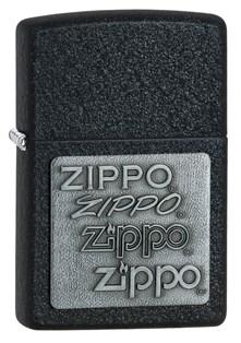 Зажигалка Black Crackle Зиппо (Zippo) 363 - фото 95370