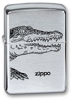 Зажигалка Зиппо (Zippo) 200 Alligator - фото 95387