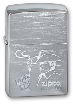 Зажигалка Zippo 200 COWBOY - фото 95443