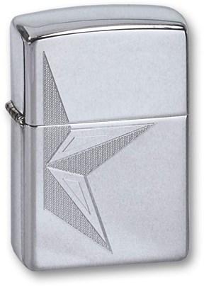 Зажигалка Zippo 250 HALF STAR - фото 95445