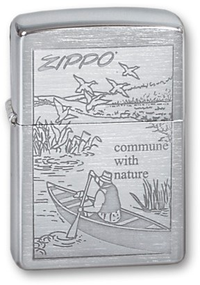 Зажигалка Зиппо (Zippo) 200 Row Boat - фото 95471