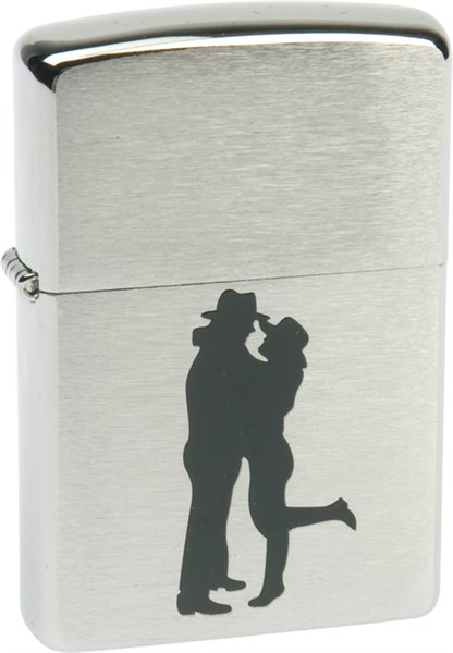 Зажигалка Zippo 200 Cowboy Couple - фото 95493