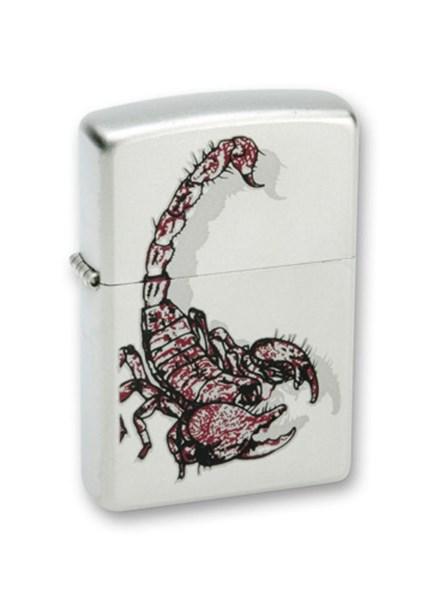 Зажигалка Зиппо (Zippo) 205 Scorpion Color - фото 95496