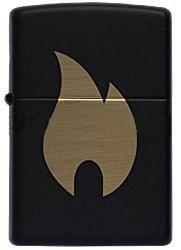 Зажигалка Зиппо (Zippo) 218 Flame chromed - фото 95508
