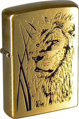 Зажигалка Proud Lion Zippo 204B Proud Lion - фото 95515