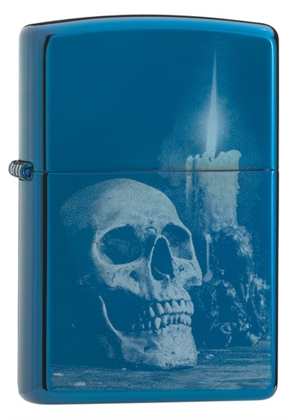 Зажигалка Skull Design Zippo 29704 - фото 95606