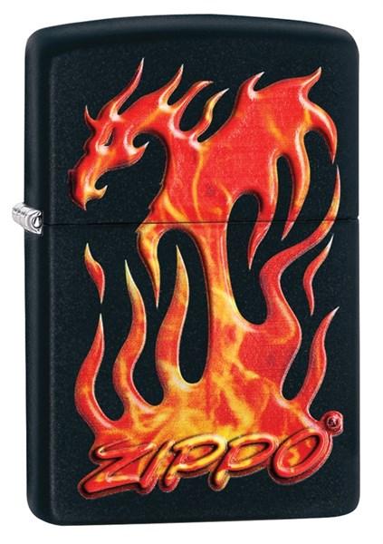 Зажигалка Flaming Dragon Design Зиппо (Zippo) 29735 - фото 95628