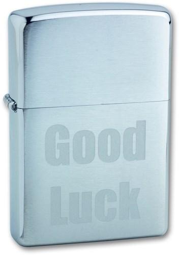 Зажигалка Zippo 200 Good Luck - фото 95647