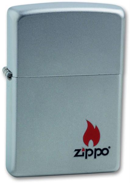 Зажигалка Satin Chrome Зиппо (Zippo) 205 Зиппо (Zippo) - фото 95649