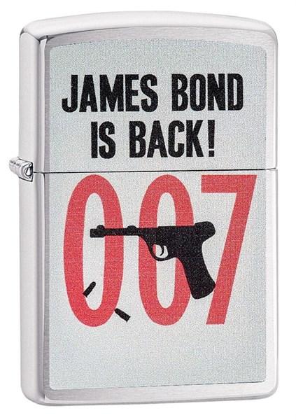 Зажигалка James Bond Зиппо (Zippo) 29563 - фото 95728
