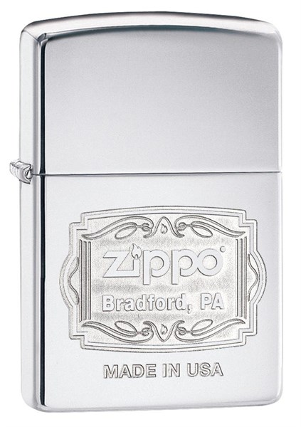 Зажигалка Classic Bradford, PA Zippo 29521 - фото 95763