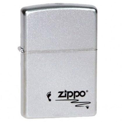 Зажигалка Зиппо (Zippo) 205 Footprints - фото 95820