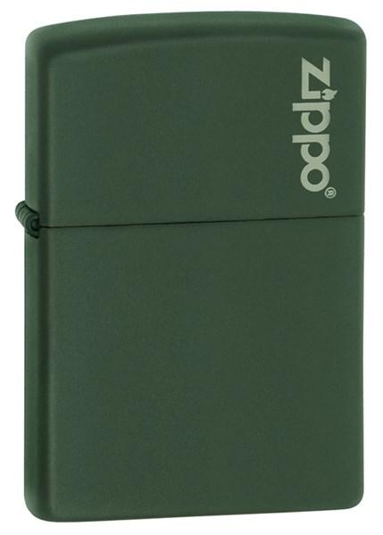 Зажигалка Green Matte Зиппо (Zippo) 221ZL - фото 95826