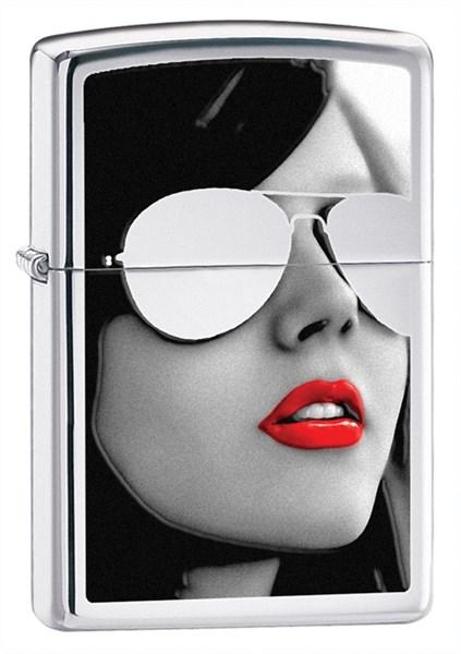 Зажигалка Sunglasses Зиппо (Zippo) 28274 - фото 95831