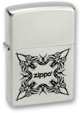 Зажигалка Zippo 205 Tattoo Design - фото 95840