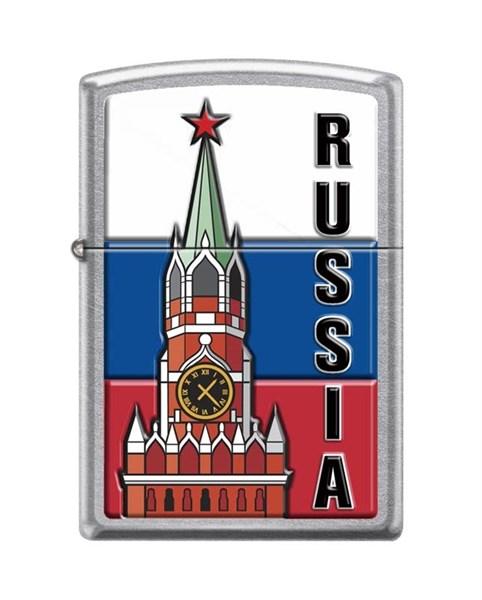 Зажигалка Зиппо (Zippo) 207 KREMLIN FLAG RUSSIA - фото 95851
