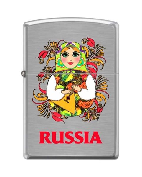 Зажигалка русская матрёшка Зиппо (Zippo) 200 MATROSHKA DOLL 2 - фото 95879