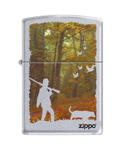 Зажигалка осенняя охота Зиппо (Zippo) 205 HUNTING - фото 95891