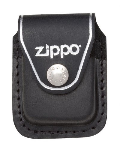 Чехол для зажигалки с клипом Зиппо (Zippo) LPCBK - фото 96019