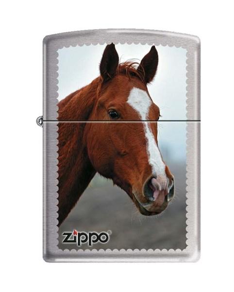 Зажигалка Зиппо (Zippo) 200 HORSE HEAD - фото 96041