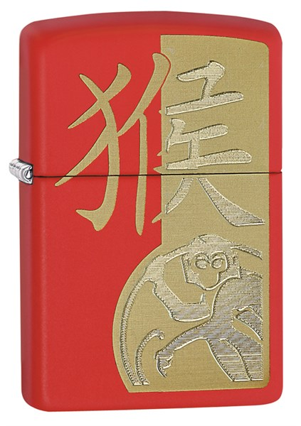 Зажигалка Year Of The Monkey Zippo 28955 - фото 96126