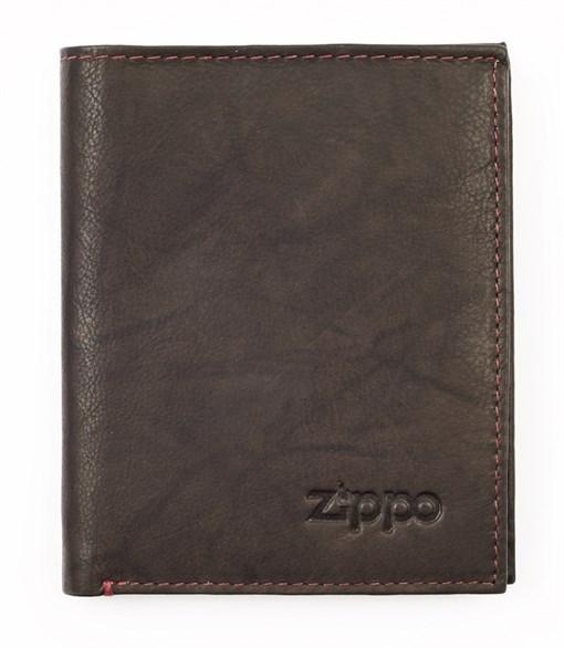 Вертикальное кожаное портмоне Зиппо (Zippo) 2005121 - фото 96143