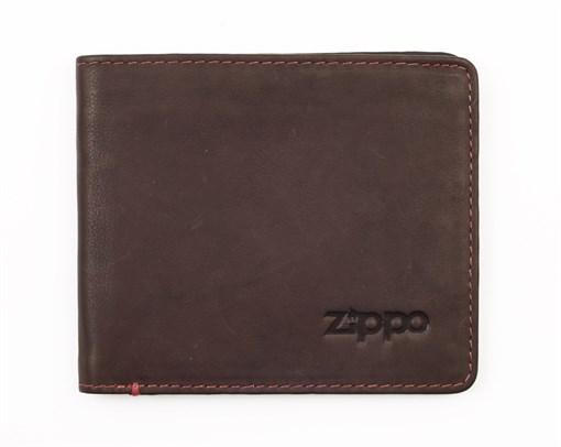 Горизонтальное кожаное портмоне Zippo 2005119 - фото 96161