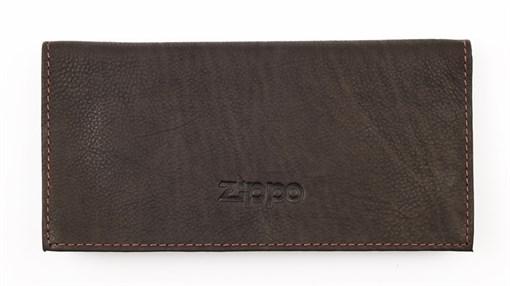 Кожаный тройной кисет для табака Zippo 2005130 - фото 96173