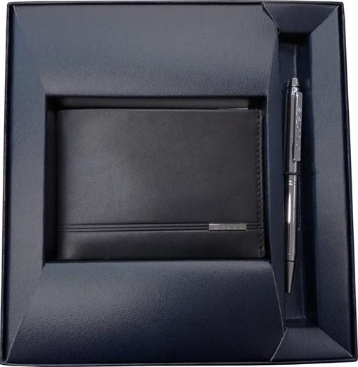 Набор подарочный портмоне и ручка Cross AC018068 - фото 99236