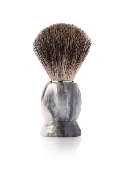 Помазок для бритья, пластик, ворс барсука Mondial M6712 - фото 99602