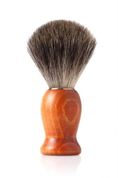 Помазок для бритья, дерево, ворс барсука Mondial M6713_a - фото 99604