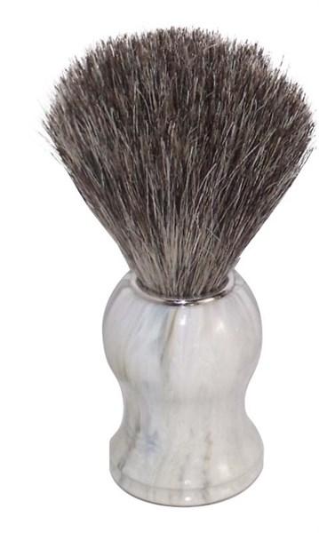 Помазок для бритья, пластик, ворс барсука Mondial M6714 - фото 99614
