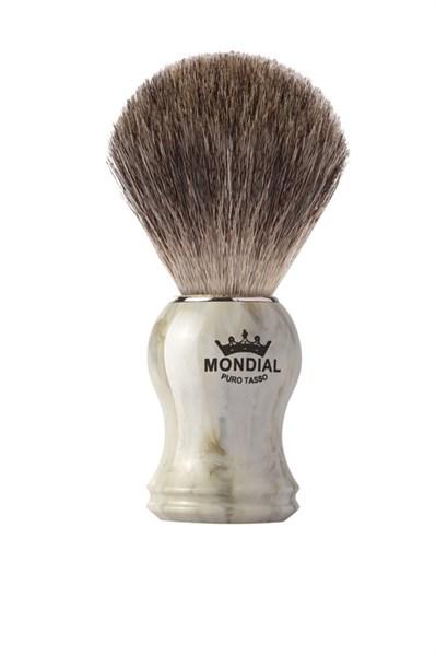 Помазок для бритья, пластик, свиной ворс Mondial M5093/5 - фото 99620