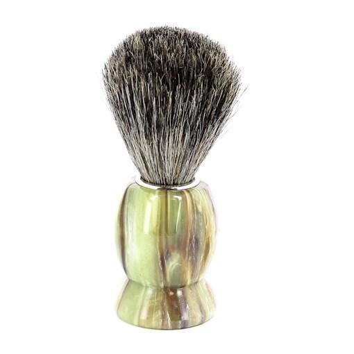 Помазок для бритья, пластик, ворс барсука Mondial M6718 - фото 99628