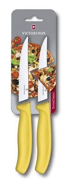 Кухонный набор ножей для стейка и пиццы SwissClassic Викторинокс (Victorinox) 6.7936.12L8B - фото 99667