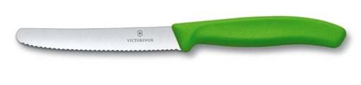 Нож столовый 11см SwissClassic Victorinox 6.7836.L114 - фото 99695
