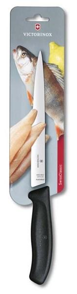 Филейный нож 20см с гибким лезвием SwissClassic Victorinox 6.8713.20B - фото 99719