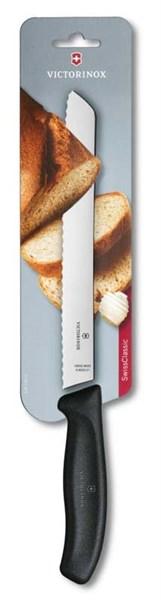 Нож для хлеба 21см SwissClassic Victorinox 6.8633.21B - фото 99729
