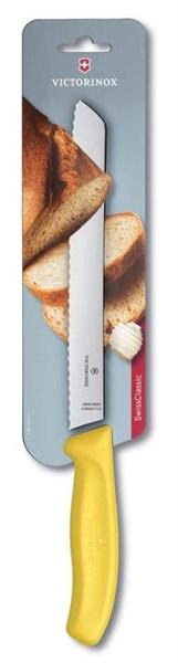 Нож для хлеба 21см SwissClassic Victorinox 6.8636.21L8B - фото 99733