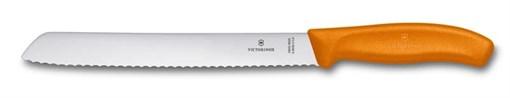 Нож для хлеба 21см SwissClassic Victorinox 6.8636.21L9B - фото 99734