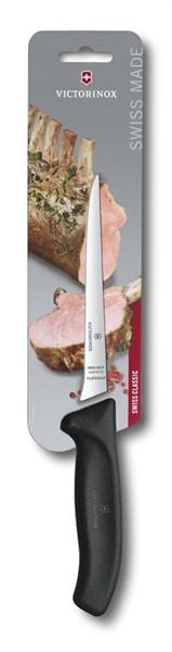 Обвалочный нож 15см с гибким лезвием SwissClassic Викторинокс (Victorinox) 6.8413.15B - фото 99806
