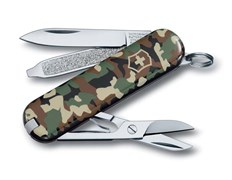 Нож-брелок Classic SD Camouflage Викторинокс (Victorinox) 0.6223.94